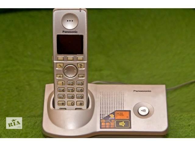 купить бу Радиотелефон «Panasonic  KX-TG7107UA» в хорошем состоянии. в Одессе