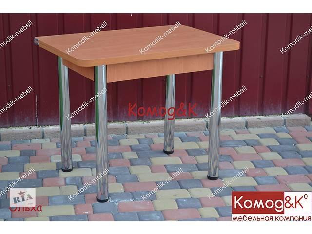 купить бу Раскладной обеденный стол на хромированных ногах 900*600 в Дружковке
