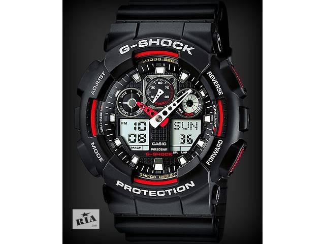 купить бу Распродажа! Часы Casio G-SHOCK GA-100! Все цвета! в Львове