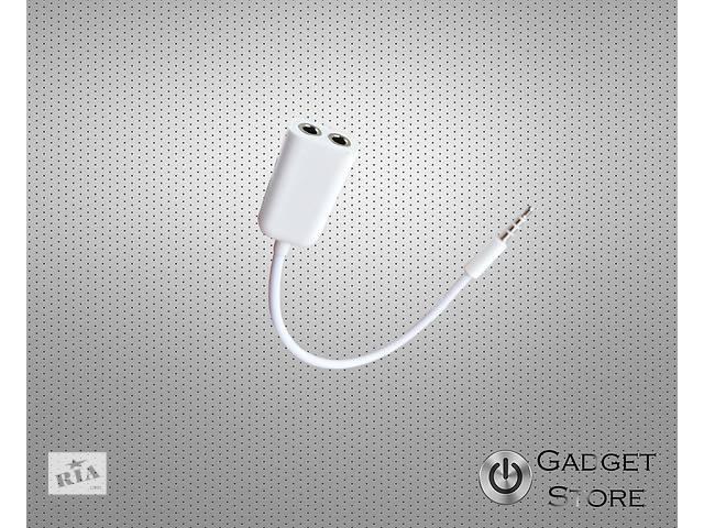 Раздвоитель (разветвитель) для наушников/Аудио сплиттер, разъем 3,5мм- объявление о продаже  в Киеве