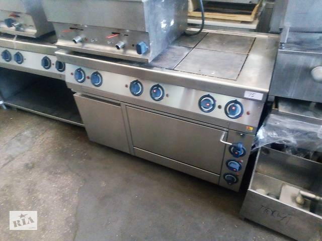 продам Б/у электрическая плита с духовкой для столовой Kogast 6 конфорок бу в Києві