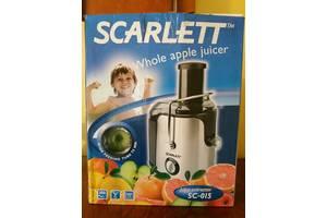 Новые Соковыжималки Scarlett