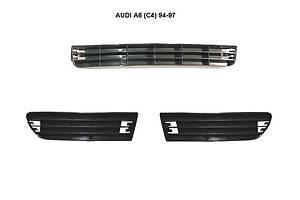 Новые Решётки бампера Audi A6