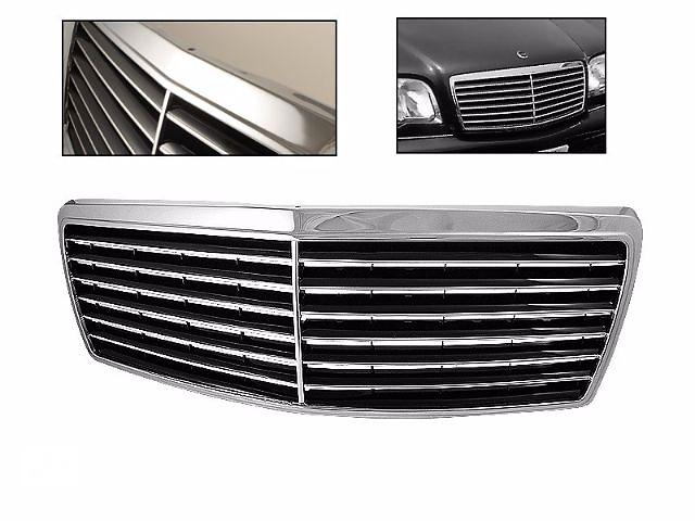 купить бу Решетка радиатора тюнинг Mercedes W140 в стиле V12 Мерседес 140 в Луцке