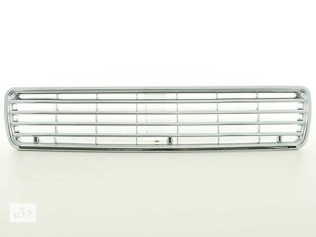 купить бу Решетка радиатора тюнинг Audi 80 B4 хром (FKSG262-W) в Луцке