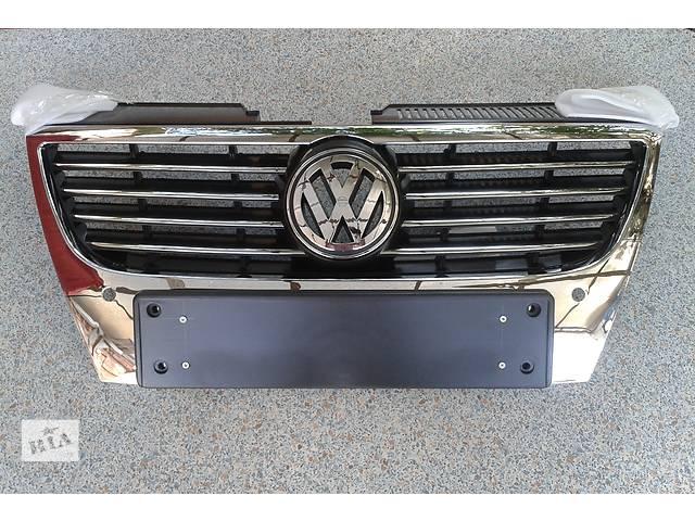 купить бу Решетка радиатора VW Passat b6, новая, highline, производство Чехия в Днепре (Днепропетровск)