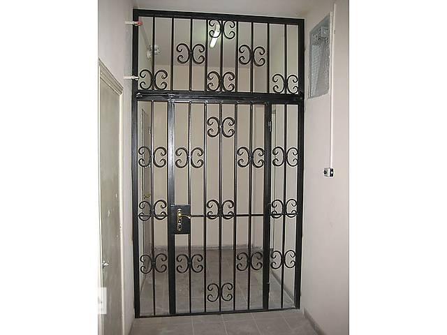 купить бу Решетка на входные двери, дверная решетка в коридор, тамбур, парадную, подвал. Под заказ, доставка по Украине! в Виннице