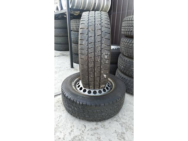 купить бу резина колеса шини 205/65/16с   Б/у шины зима 6мм  в Украине