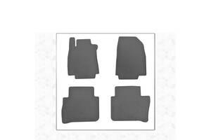 Резиновые коврики (4 шт, Stingray Premium) Nissan Tiida 2011-2014 гг. / Резиновые коврики Ниссан Тиида