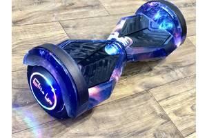 """Гироскутер / Гироборд Smart Balance Elite Lux 8"""" Цветной Космос +Сумка +Баланс +Апп (Гарантия 12 Месяцев)"""