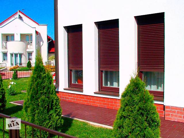 Роллеты (рольставни), роллетные ворота, решетки АЛЮТЕХ в Житомире. - объявление о продаже  в Житомире