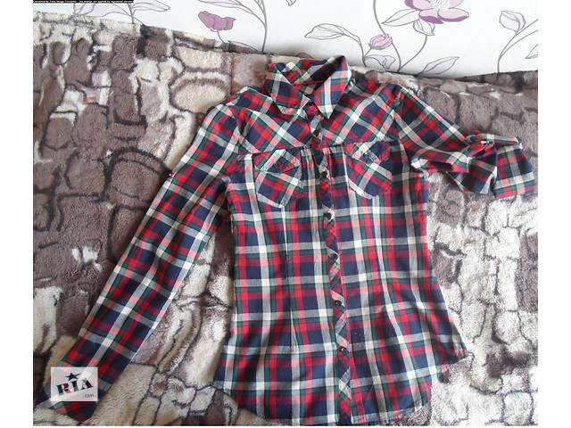 купить бу Рубашка в клеточку в Ровно
