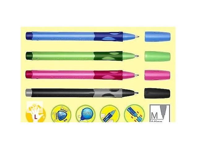 купить бу Ручка для левшей и правшей STABILO LEFTRIGHT 6318 шариковая  в Украине