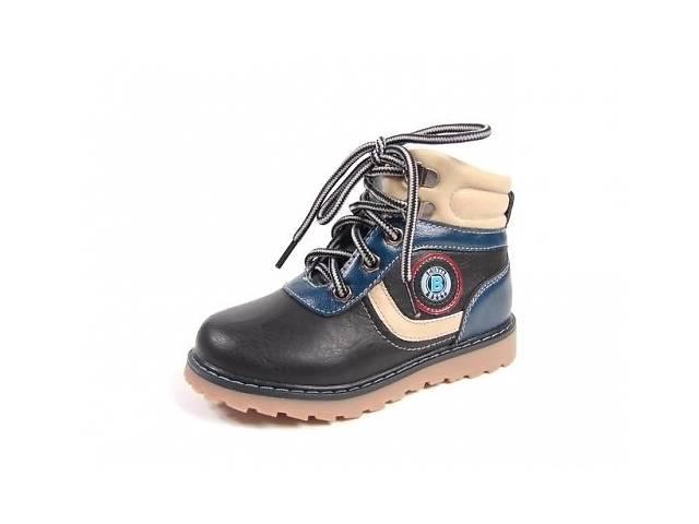 6a04a0bdf бу с 25р - 30р - Ботинки демисезонные на мальчика тм Clibee f-585 3цвета