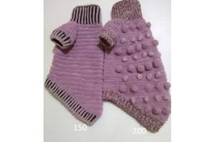 С люрексом и шишечками сиреневый свитер для собак, кошек