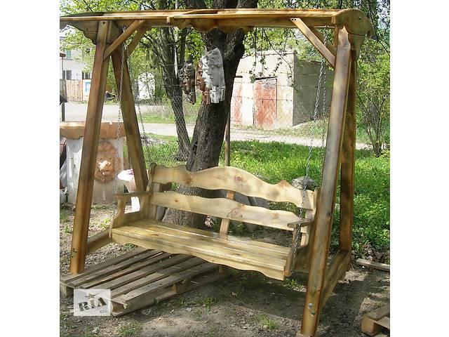бу Садовая мебель, декор новый Садовые качели Большие в Виннице