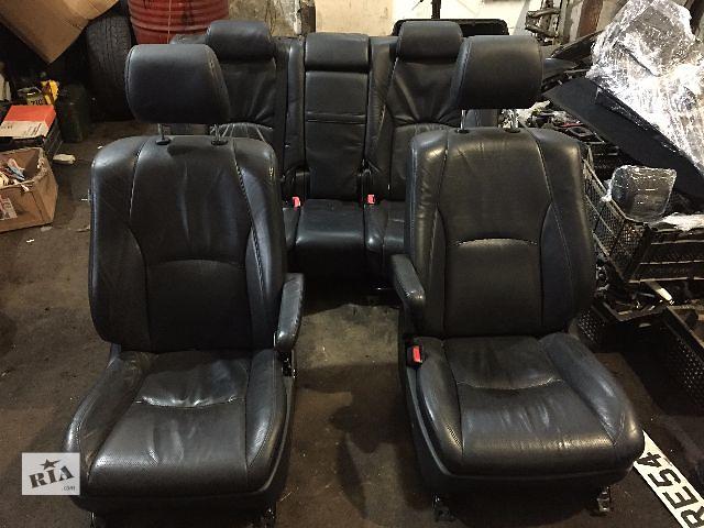 Салон кожаный черный комплектный. Lexus RX300/330/350/400  2006- объявление о продаже  в Одессе