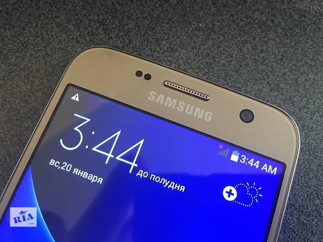 Samsung Galaxy S7 метал (2SIM) (золото. черный. белый)- объявление о продаже  в Белой Церкви (Киевской обл.)