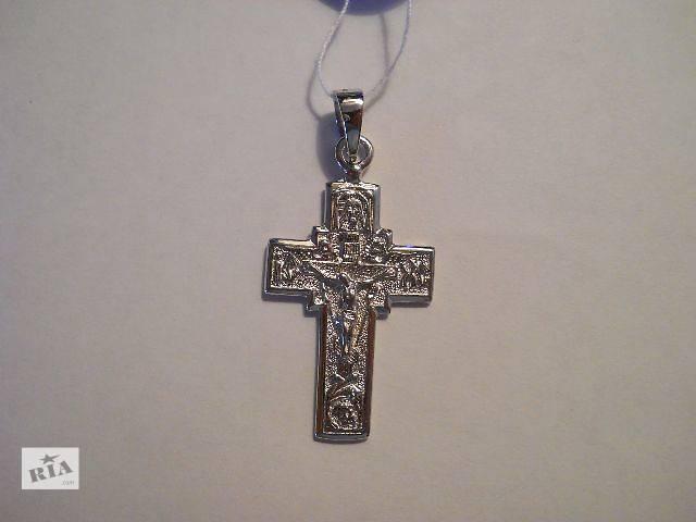 продам Серебрянный крестик (5,5 гр. серебро 925 пробы) бу в Киеве