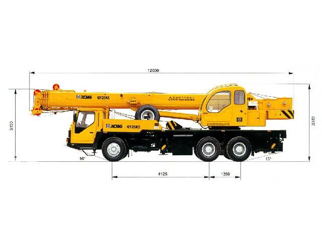 Аренда Автокрана XCMG QY25 K5 (25т, 47 м)- объявление о продаже   в Украине