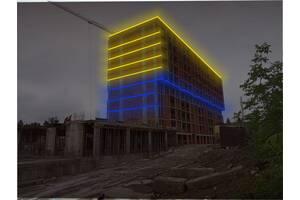 Архітектурна підсвітка фасадів. Підсвічування будівель та недобудов