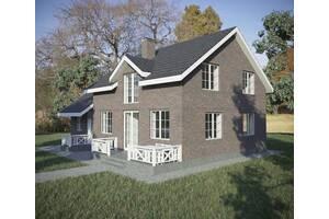 Архитектурное проектирование коттеджей, жилых домов, таунхаусов, услуги архитектора
