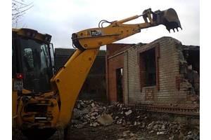 Демонтаж, снос домов и др.строений