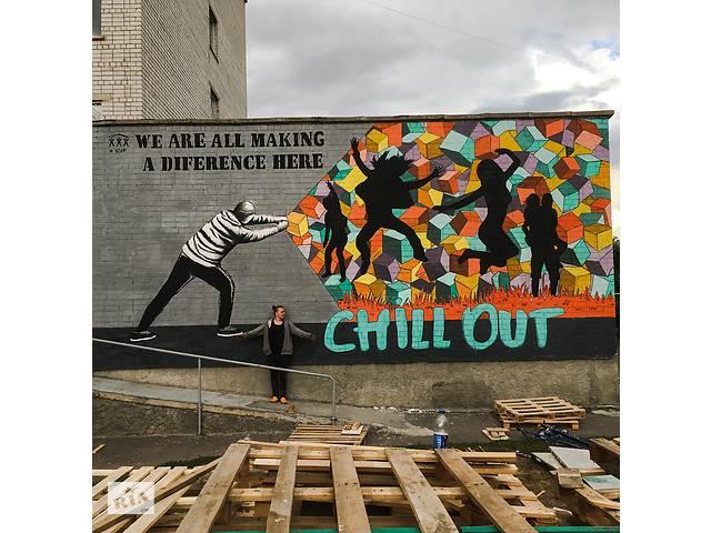 купить бу Графіті , мурал, графити, художній розпис стін. Малюнок на стіні в Львові