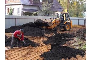 Купить с доставкой грунт, песок речной, чернозем, торф, щебень ДЕШЕВО! Киевская область