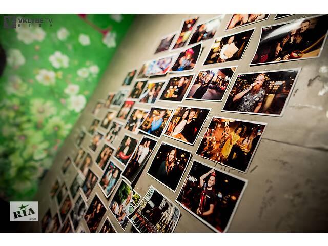 бу Мгновенное фото на мероприятии, моментальная фотопечать, фото студия в Киеве