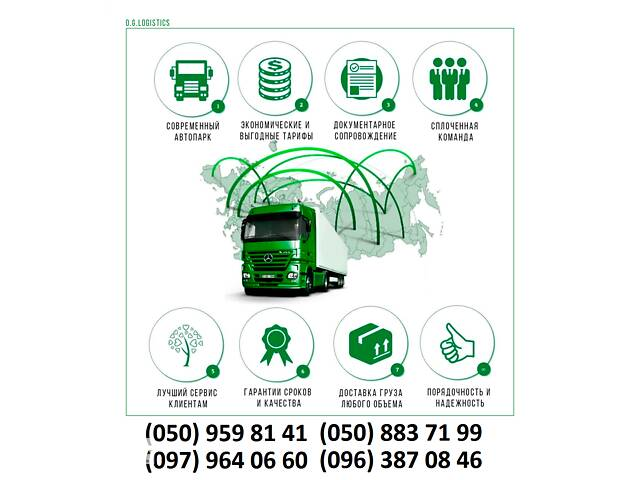 продам Международные перевозки Украина, Европа, СНГ, Азию бу в Запорожье