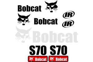 Наклейка, стикер, декали, логотип bobcat бобкет, бобкэт, бобкат