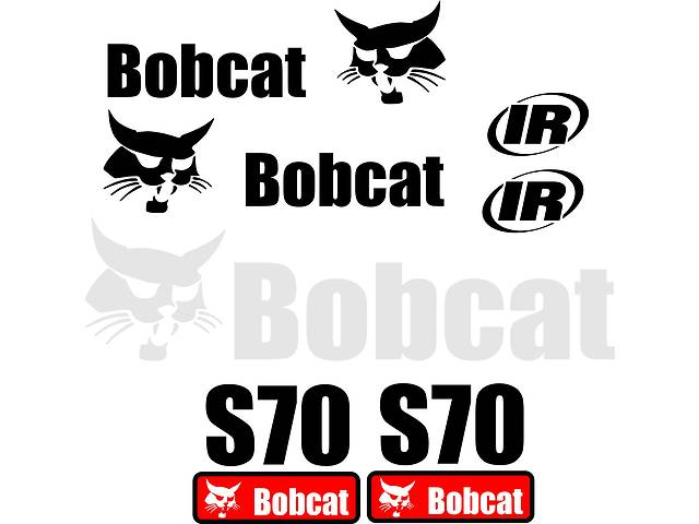 Наклейка, стикер, декали, логотип bobcat бобкет, бобкэт, бобкат- объявление о продаже  в Харькове