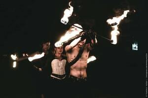 Огненно-пиротехническое шоу. Театр огня Phantom