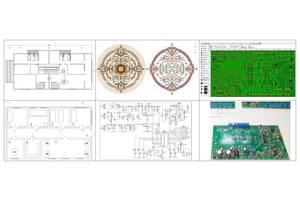 Оцифровка чертежей, схем, плат, рисунков в Автокад, AutoCAD