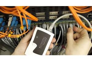 послуги по монтажу та ремонту телефонних та комп'ютерних мереж