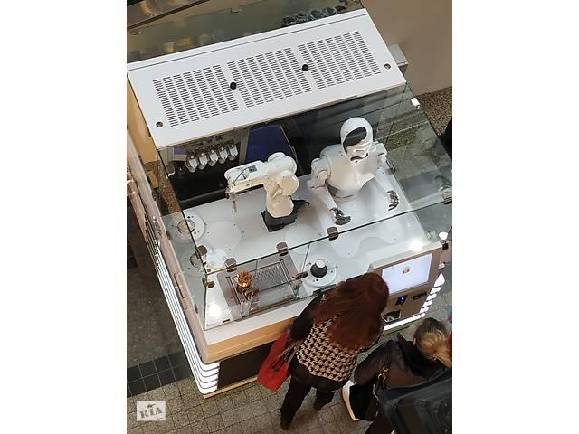 бу Продаж м'якого морозива. Роботизований кіоск-кафе в Харькове