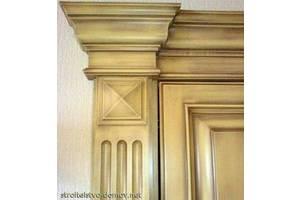 Реставрация межкомнатных дверей любой сложности.