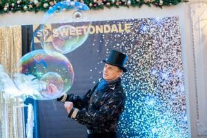 Шоу мыльных пузырей Черкассы Александр Кобылинский