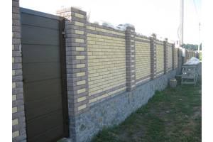 Строительство Кирпичных Заборов
