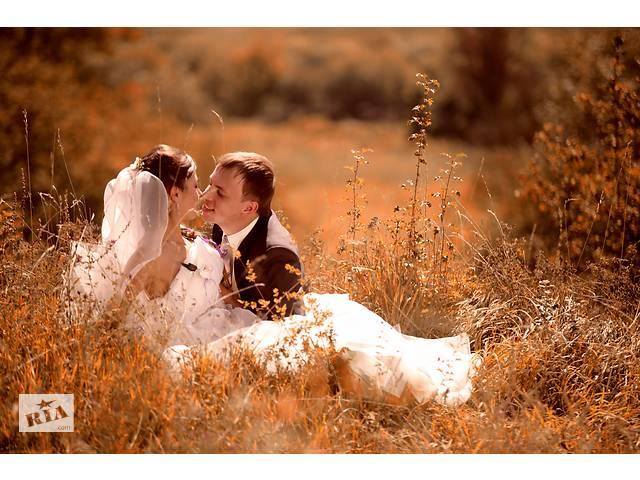 продам Свадебный фотограф, видеооператор, видеограф/Фото-видеосъемка свадьбы Украина. бу  в Украине