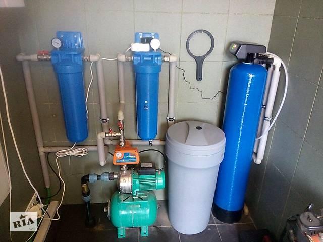 бу Система обезжелезывания и смягчения воды. Комплексная очистка воды  в Украине