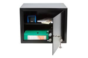 Сейф Gute 30K для офісу, бухгалтерії, документів під папку реєстратор (ШхВхГ: 38х30х30 см)
