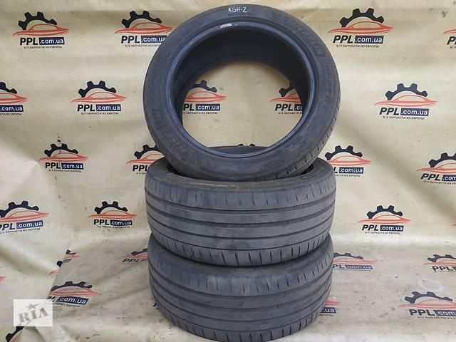 купить бу 3 шины летние резина Michelin Pilot Sport 4 245/45/R18 16 год наличие в Чернигове