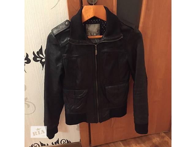 купить бу Кожаная куртка в Чорткове