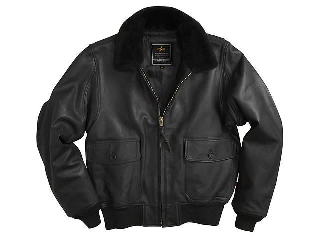 продам Шкіряна льотна куртка G-1 Leather Jacket Alpha Industries бу в Львове