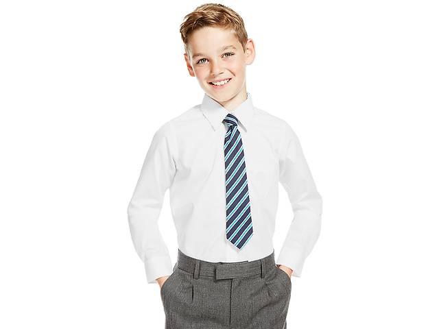 Шкільні білі сорочки для хлопчиків на 6-7-8-9-10-12 років - Дитячий ... c57c68d4c5b74