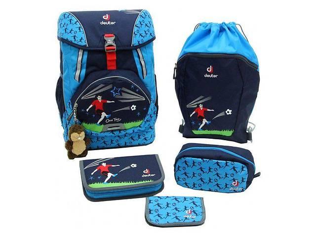 Рюкзак Deuter  OneTwoSet - Hopper с набором школьных принадлежностей (Синий Футбол navy soccer)- объявление о продаже  в Одессе