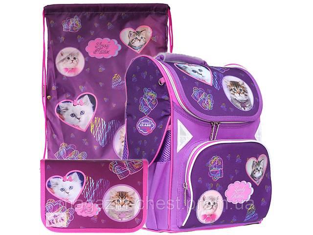 Рюкзак в комплекте 3 в 1 Lovely Kitties CLASS 9918+9943+99201- объявление о продаже  в Киеве