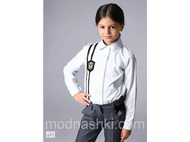 Школьная рубашка для девочки от тм MONE р-р 128,134,146,152,158 158- объявление о продаже  в Киеве